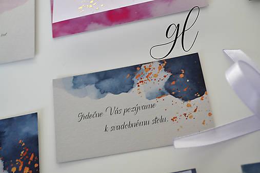 Svadobné oznámenie transparent akvarel (Pozvánka)