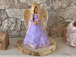 Socha - Anjel s polodrahokamom - 11584157_