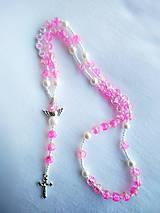 Iné šperky - Ruženček s menom #3 - 11581290_