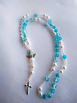 Iné šperky - Ruženec s menom #4 - 11581306_