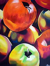 Obrazy - Jablká - 11581560_