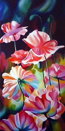 Obrazy - poppies - reprodukcia - 11581585_