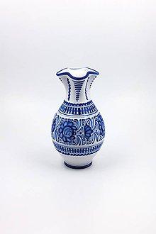 Nádoby - Váza prehýbaná - 11584871_