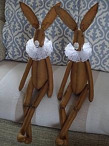 """Bábiky - Vintage zajac """"naháčik"""" - 11585328_"""