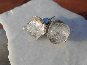Náušnice - diamond cristalls-diamant-krištáľ - 11585600_