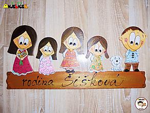 Tabuľky - Menovka - rodinka - 11586901_