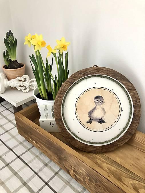 Dekorácie - Veľkonočné taniere - 11584457_
