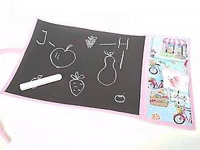 Hračky - Kresliaca (cestovná) tabuľka - bicykle - 11587169_