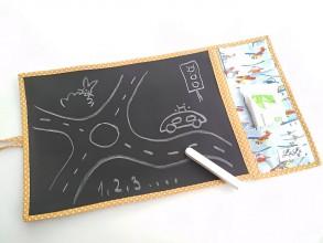 Hračky - Kresliaca (cestovná) tabuľka - lietadlá - 11587296_