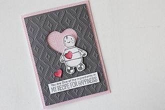 Papiernictvo - Romantická pohľadnica - 11586874_