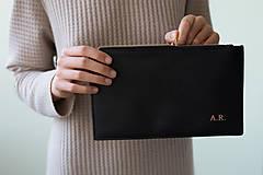 Taštičky - Listová kabelka - 11585511_