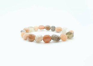 Náramky - Ochranný náramok z prírodného slnečného kameňa - 11585677_