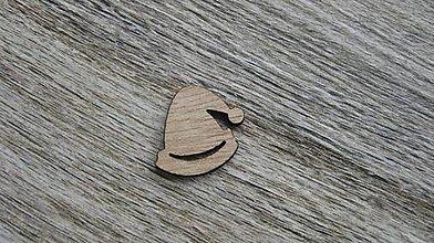 Polotovary - Drevený výrez,1 ks (čapička) - 11586185_