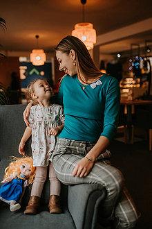 Tehotenské/Na dojčenie - Tričko na dojčenie-TAJUPLNÁ CESTA - 11584702_