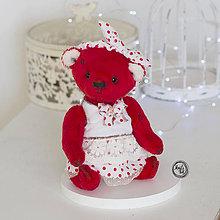 Hračky - Medvedík Bianka - 11585182_