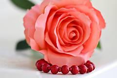 Náramky - Červené bobule - 11585113_