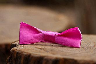 Náramky - Rúžová mašlička náramok - 11585148_