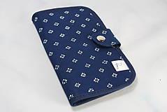 Taštičky - Mordotlačový obal na mobil a karty Zita 2 - 11585751_
