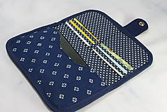 Taštičky - Mordotlačový obal na mobil a karty Zita 2 - 11585756_