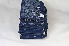 Taštičky - Mordotlačový obal na mobil a karty Zita 3 - 11585763_