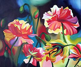 Obrazy - flowers - 11586175_