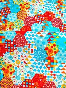 Textil - Jediná šanca - patchwork - 11589282_