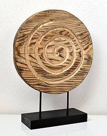 Dekorácie - Drevená dekorácia - Vírenie - 11588738_