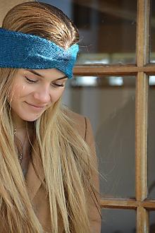 Ozdoby do vlasov - Čelenky v tyrkysových - 11587593_
