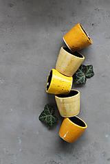 Nádoby - Malé jarné poháriky - 11589822_
