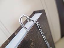 Papiernictvo - Záložka do knihy - HVIEZDY - minerál/hnedá perleť - 11588079_