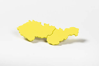 Odznaky/Brošne - Československo - Brošňa (Žltá) - 11590236_