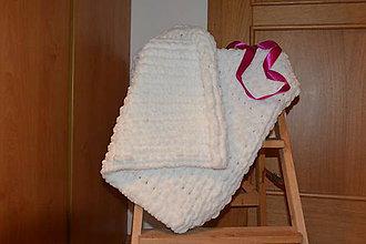 Úžitkový textil - Puffy deka - 11588097_