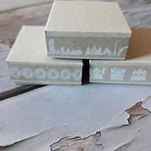Obalový materiál - Papierové krabičky  5x5x2cm - 11589021_