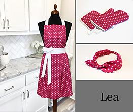 Iné oblečenie - zástera LEA (6 farieb) - 11594009_