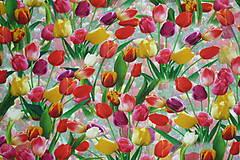 Textil - Tulipány úplet digi - 11591221_