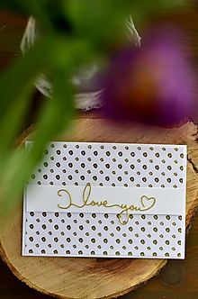 Papiernictvo - Ľúbim ťa (Guličky) - 11594300_