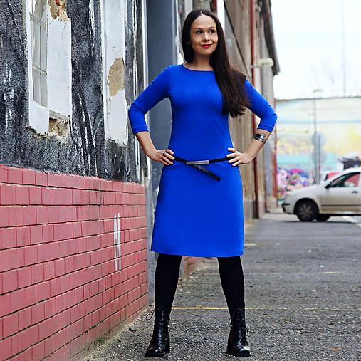 """Šaty - šaty """"CLASSIC BLUE"""" No.2 - více barev - 11594316_"""
