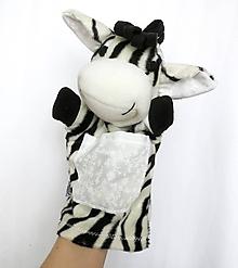 Hračky - Maňuška zebra - Zebrička z Bielej Savany - 11594106_