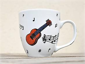 Nádoby - Porcelánový hrnček pre pani učiteľku/pána učiteľa hudby na ZUŠ - 11593142_