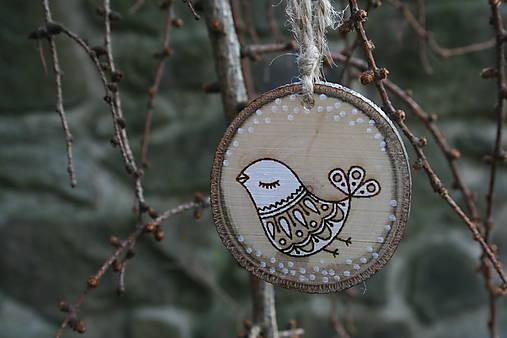 """Dekorácie - veľkonočná dekorácia na zavesenie mix""""vtáčik"""" - 11591735_"""