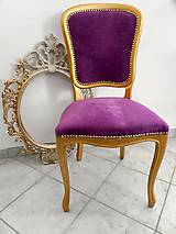 Nábytok - Baroková stolička  - 11593439_