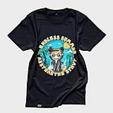 Tričká - Endless summer - čierne tričko - 11592664_