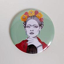 Zrkadielka - Frida zrkadielko - 11593313_