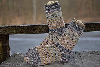 Obuv - ponožky s pravej ponožkovej - s kašmírom (v. 38-40) - 11593082_