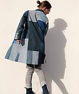 Kabáty - sešívaný/džínový - 11594735_