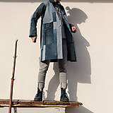 Kabáty - sešívaný/džínový - 11594742_