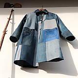 Kabáty - sešívaný/džínový - 11594743_