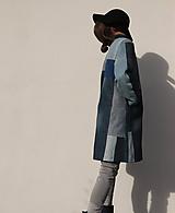 Kabáty - sešívaný/džínový - 11594757_