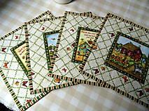 Úžitkový textil - Na motýlích krídlach... prestieranie 4 ks - 11596654_