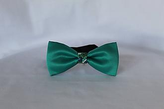 Doplnky - Pánsky motýlik (Zelená) - 11594631_